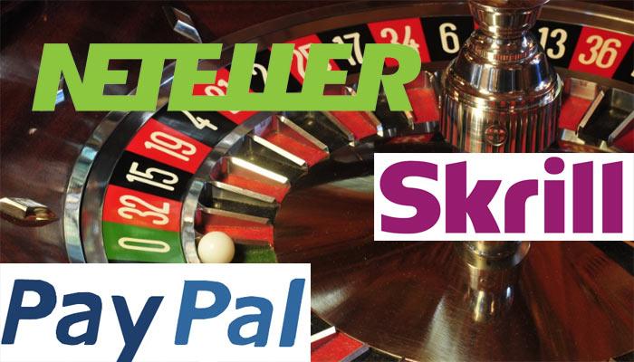 Einzahlungsmöglichkeiten Roulette Casino e-Wallets