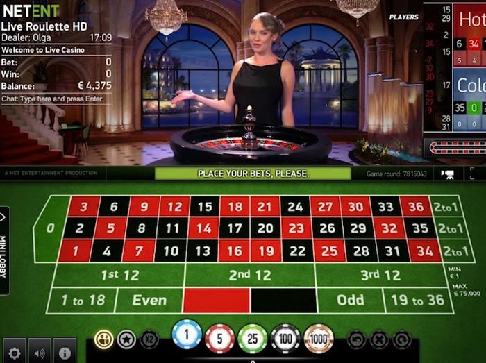 Net Entertainment Roulette VIP Table